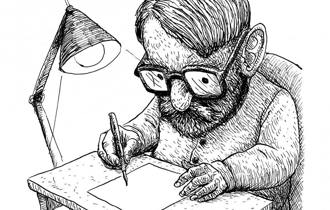 Caricature: Toom Tragel