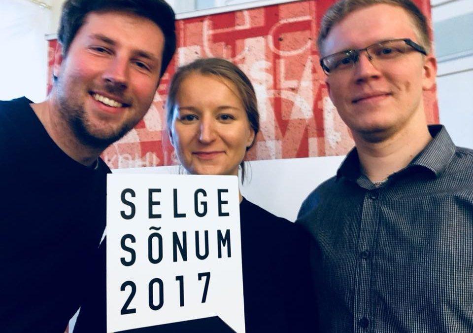 """Eesti inimarengu aruanne """"Eesti rändeajastul"""" sai Selge Sõnum 2017 tunnustuse"""